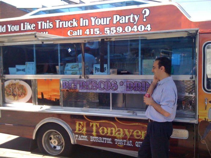 3. El Tonayense Taco Truck Harrison Street & 22nd Street, San Francisco