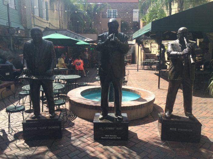 10) New Orleans Musical Legends Park, 311 Bourbon St.