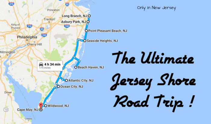 New Jersey Shore Beaches Map Pictures To Pin On Pinterest