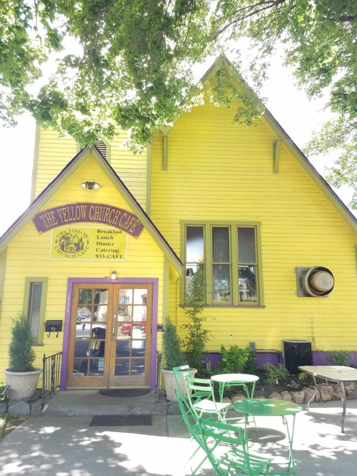 4.  The Yellow Church Cafe, Ellensburg