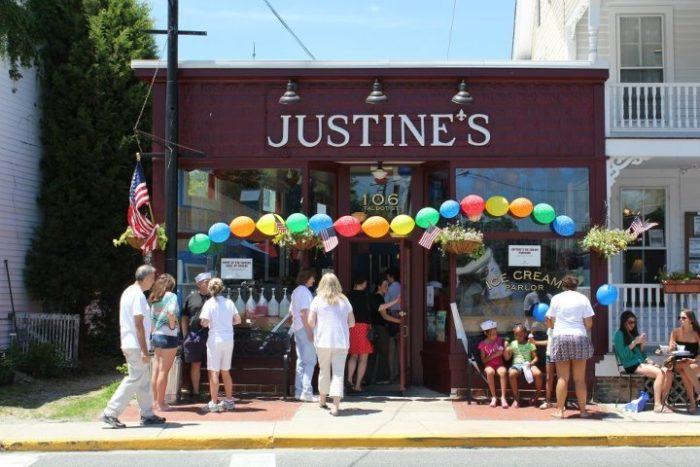 4. Justine's Ice Cream Parlour, St. Michaels