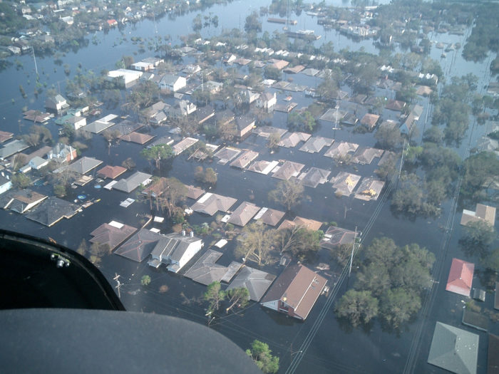7. Asking us about Katrina.