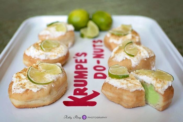 They also have a donut-of-the-month and currently, the August donut is key lime. SO GOOD.