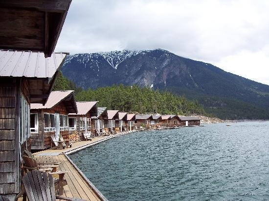 9. Stay at Ross Lake Resort in Rockport.