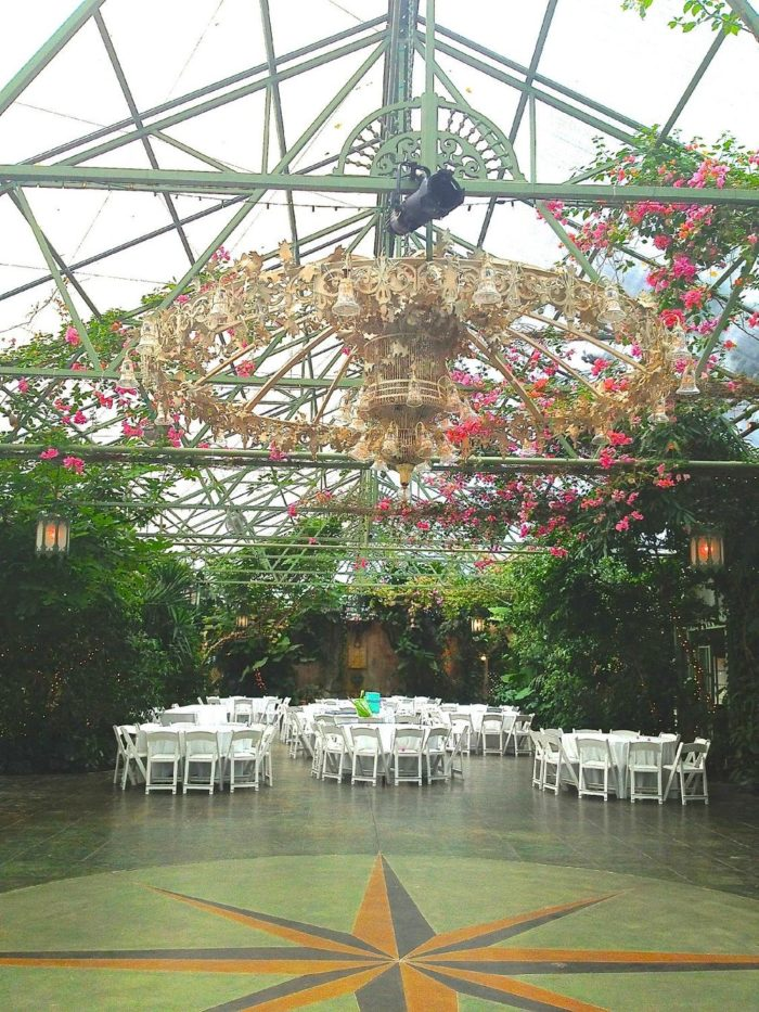 Get married in the Grand Pavillion,