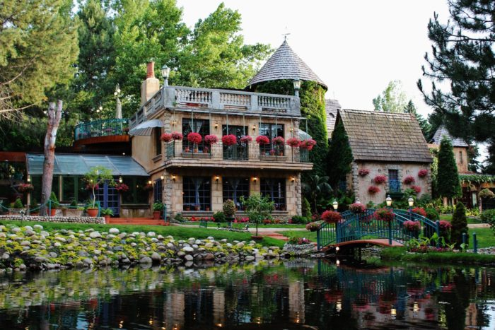 La Caille looks like a fairy tale castle.