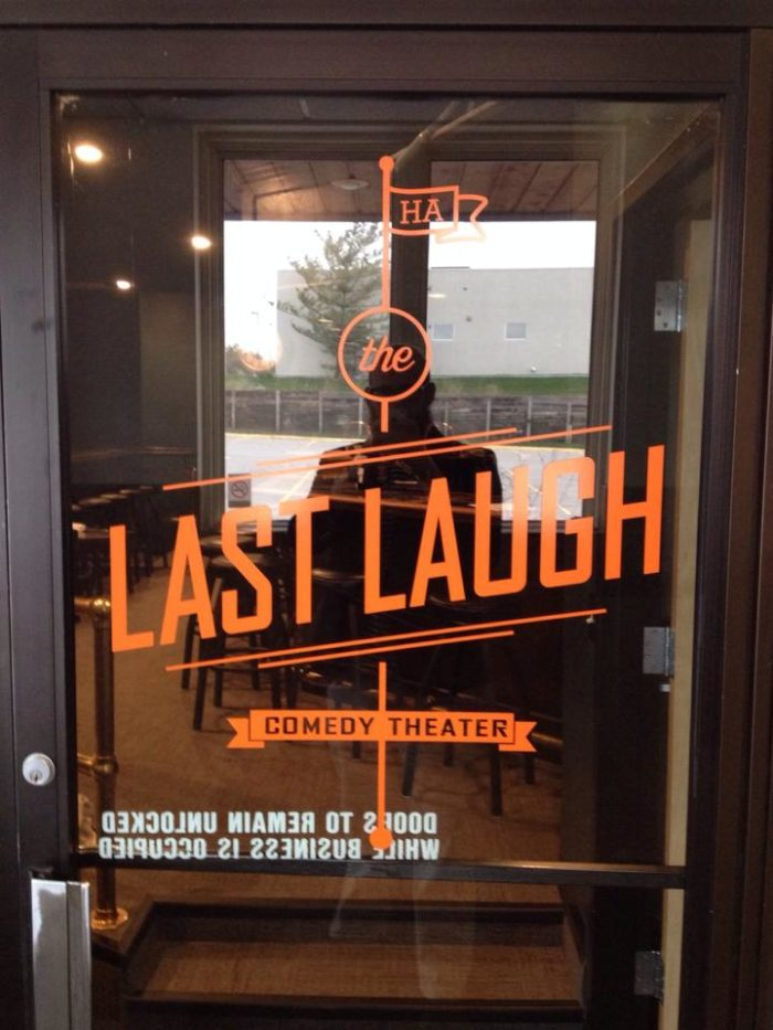 7. See a comedy show at the Last Laugh Comedy Theater.