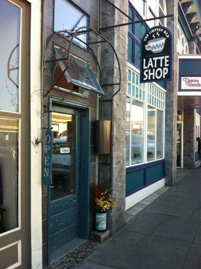 7. The World's Skinniest Latte Shop, Friday Harbor