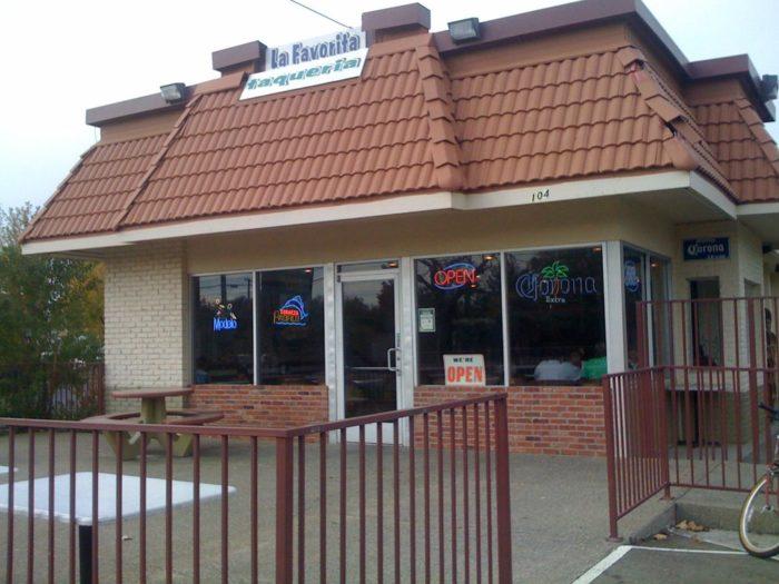 9. El Favorito Taqueria 10427 Folsom Blvd., Rancho Cordova