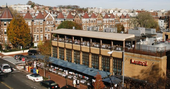 11 best rooftop dining in washington dc for Restaurants near garden state plaza