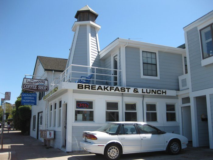 Fuel up on coffee and Danish fare at The Lighthouse Café.