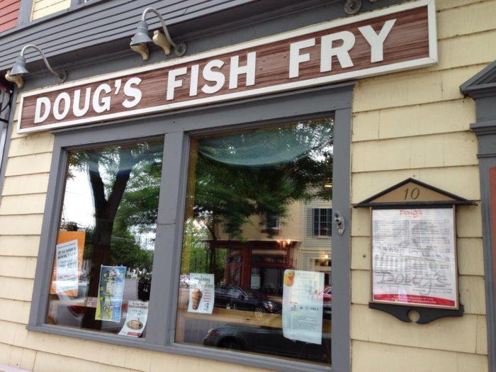 4. Doug's Fish Fry - Skaneateles