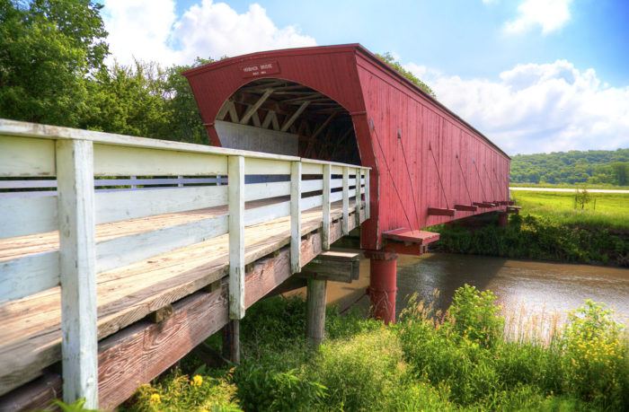 4. See the covered bridges of Madison County (Madison County)