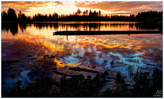 5. Manzanita Lake, Lassen Volcanic National Park