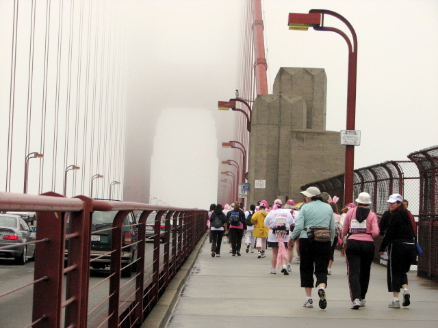 8. Walk across the Golden Gate Bridge.