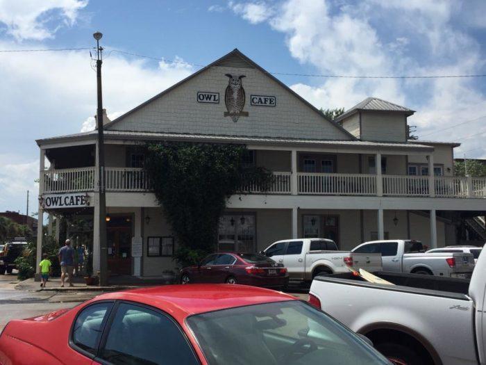 9. Owl Cafe, Apalachicola
