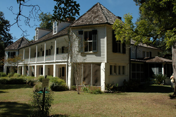 One thing that makes this plantation so unique was that it was built by and for free people of color, and it is one of the largest plantations in the United States to do so.