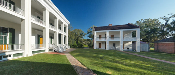 In 1832 construction began on this home, and it was completed by 1833 by the Metoyer family.