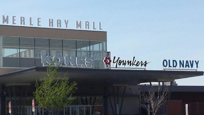 8. Merle Hay Mall Tower