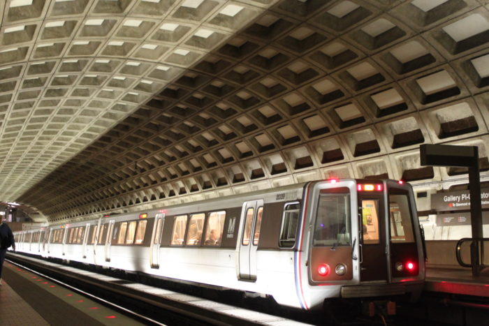 1. There are around 1,000-1,2000 items lost on the Metro every month.
