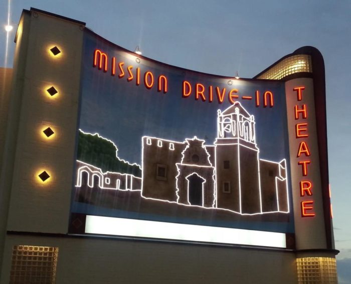 9. Mission 4 Drive-In (San Antonio)