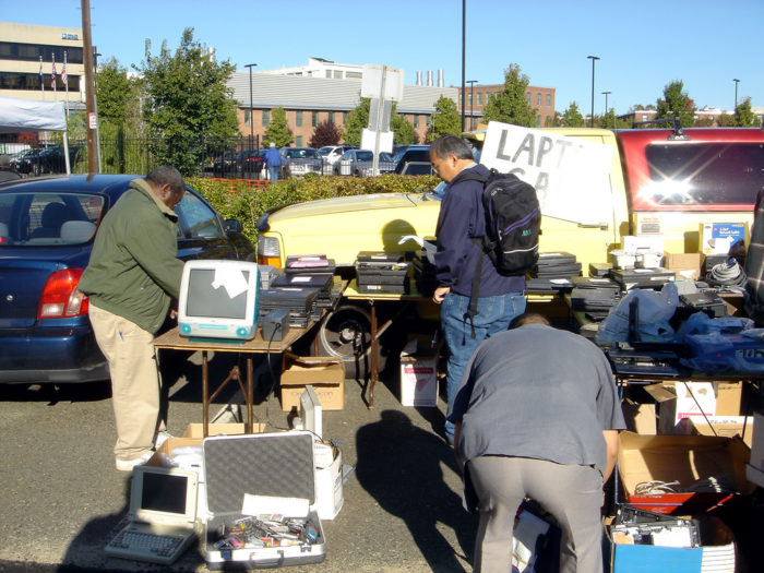4. MIT Flea Market, Albany and Main Streets, Cambridge