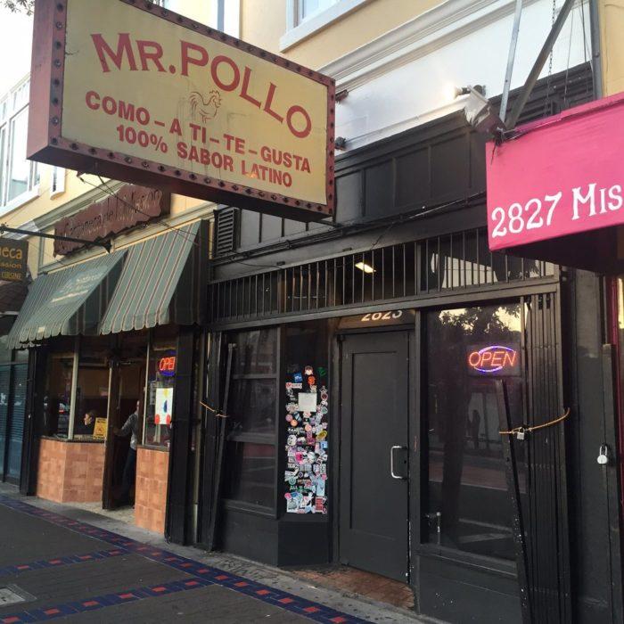 2. Mr. Pollo: 2823 Mission St.