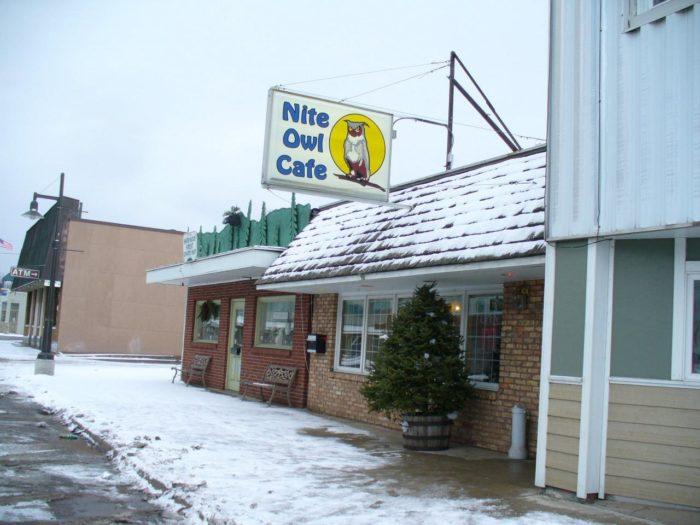 3. Nite Owl Cafe (11 S Main St, L'Anse, MI)