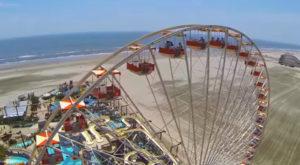 Enjoy Breakfast In The Sky On This Beachfront Ferris Wheel Along The Jersey Shore