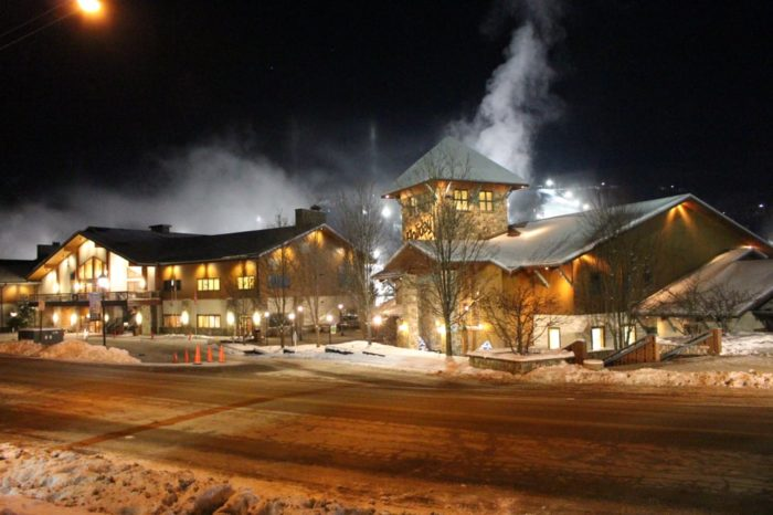 If you have heard of this small town, it's most likely because of the remarkable resort.