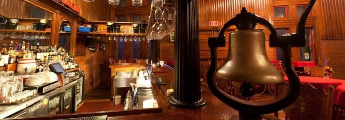 They offer a full bar, including a great selection of craft beers and even moonshine.