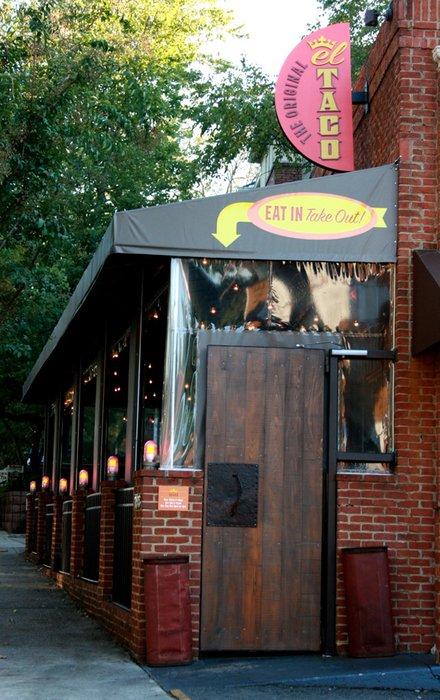 1. The Original El Taco—1186 North Highland Avenue Northeast, Atlanta, GA 30306