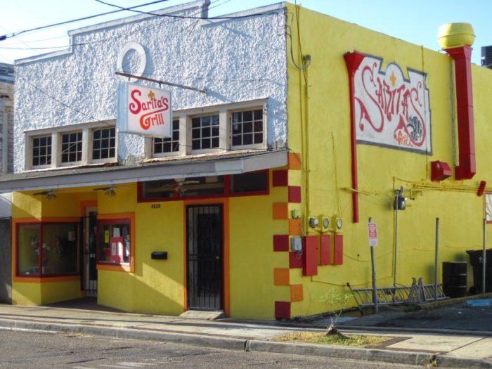 7) Sarita's Grill, 4520 Freret St.