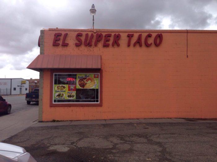 2. El Super Taco (Alamosa)