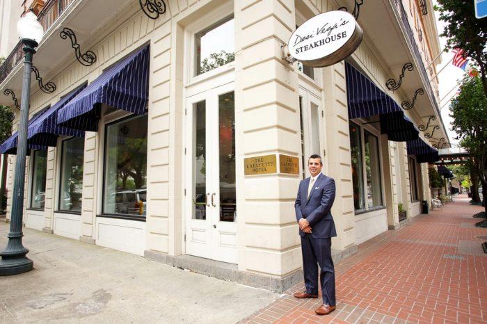 6) Desi Vega's Steakhouse, 628 St. Charles Ave.