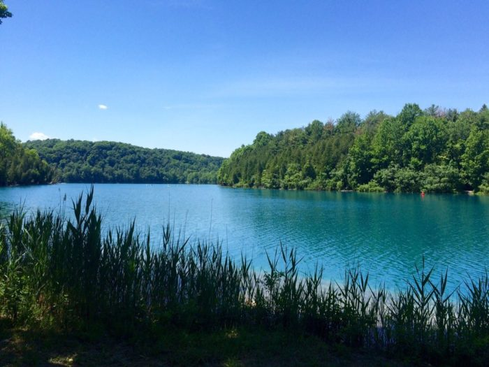 Tucked away in the town of Manlius not too far away from Syracuse, you'll find the state park of your dreams.