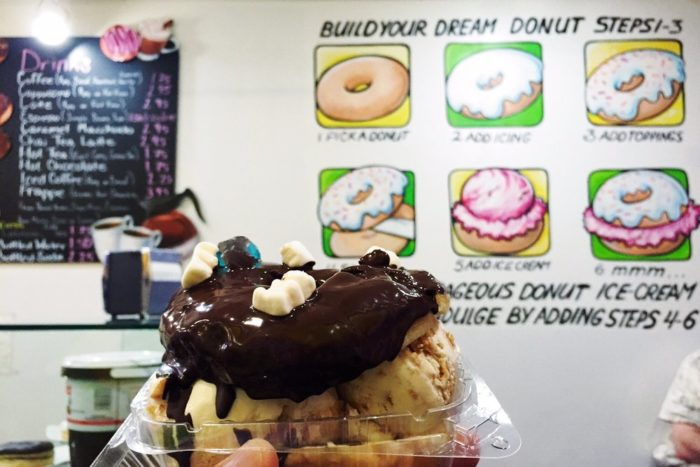 So, who's ready to cross off the Donut Ice Cream Sandwich from their Summer 2016 bucket list?