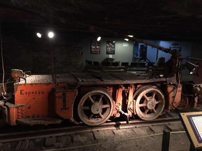 ...and even a Mining Gallery.