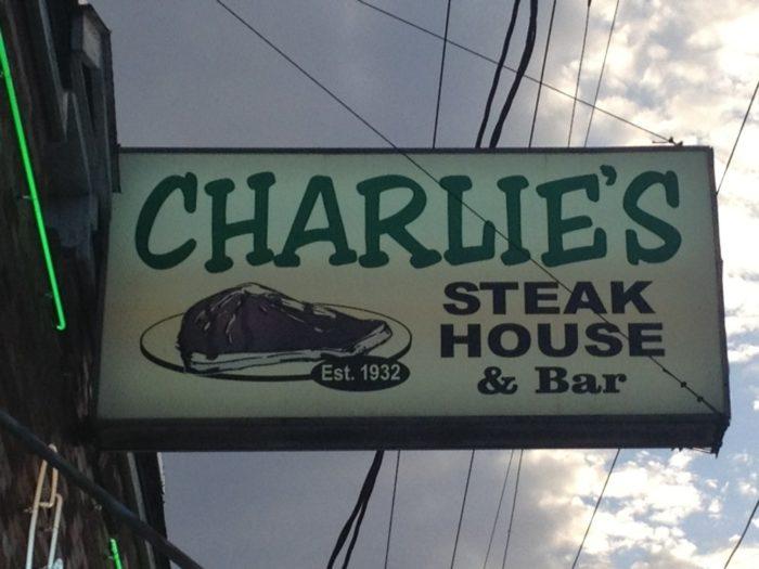 8) Charlie's Steakhouse, 4510 Dryades St.