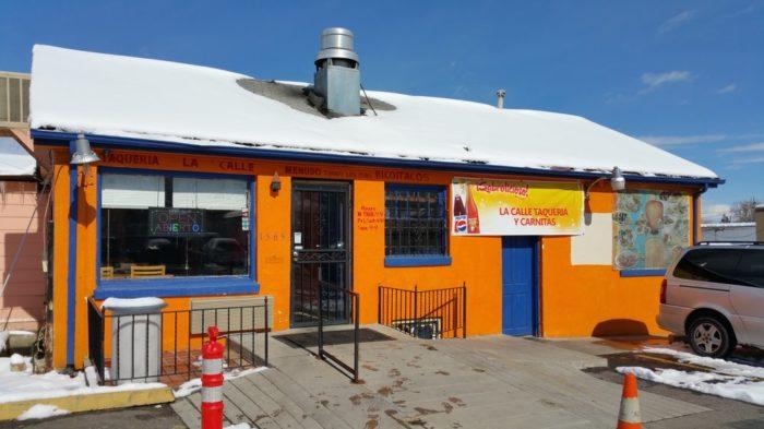 9. La Calle Taqueria Y Carnitas (Denver)