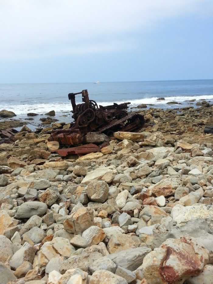 Not only is the wreckage a sight to see, but the beautiful coastal setting is also a treat to the senses.