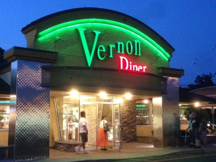 10. Vernon Diner (Vernon)