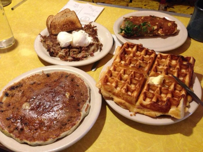 It's always worth the wait for an epic meal like this!