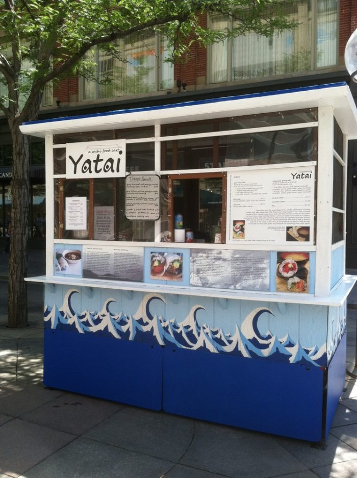 9. Yatai Food Cart