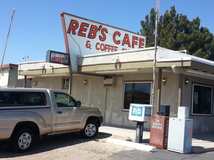 7. Reb's Cafe, Benson