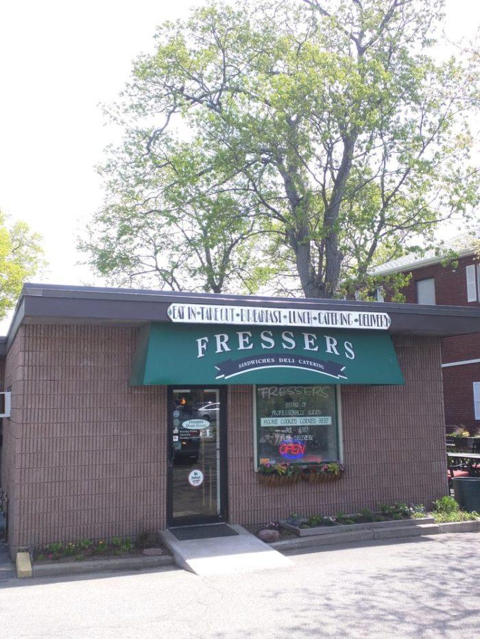 13. Fresser's Delicatessen, Randolph