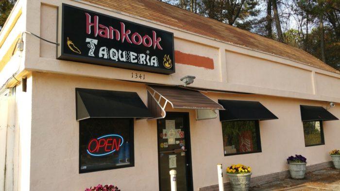8. Hankook Taqueria— 1341 Collier Rd NW, Atlanta, GA 30318