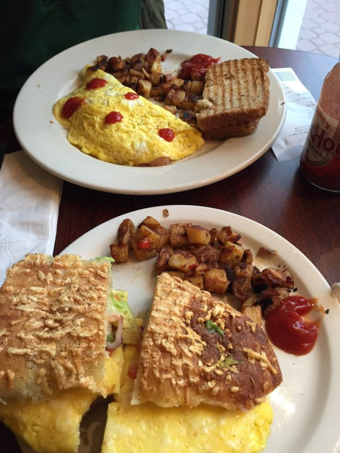 If you're looking to sit down and eat, we suggest you stop in for Breakfast!