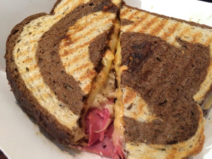 How delicious does this Mount Colvin sandwich look?
