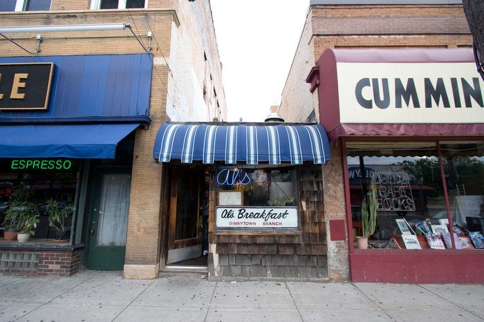 At only 10 feet wide, Al's is the narrowest restaurant in Minneapolis.